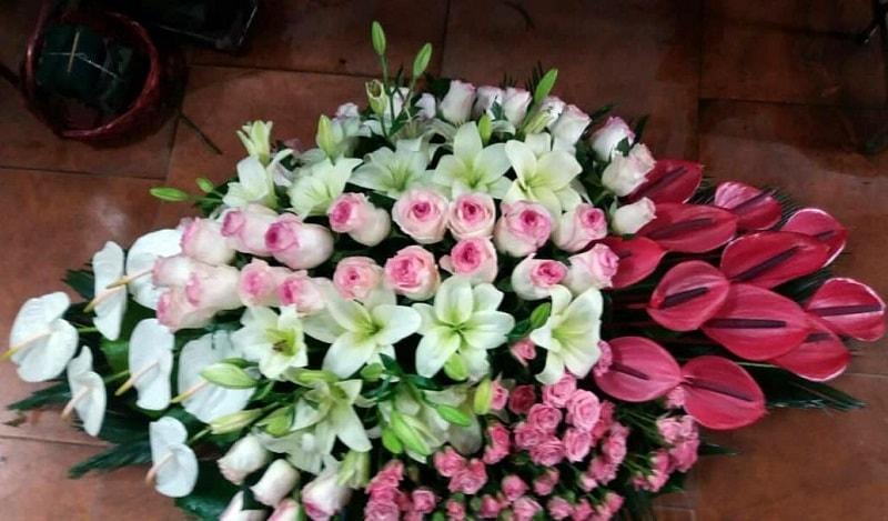 گل های تبریک رومیزی