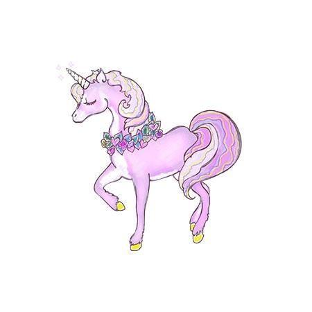 تم تولد دخترانه اسب شاخدار