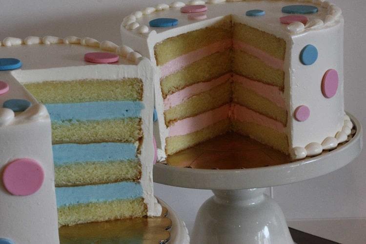 کیک جشن تعیین جنسیت