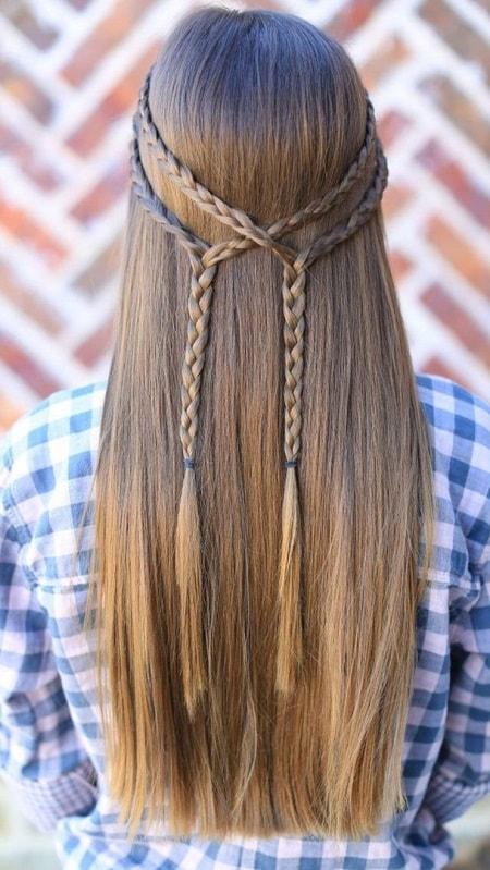 بافت و موی باز