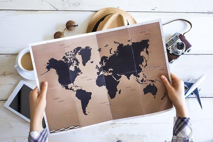 سورپرایز کردن با برنامه ریزی برای سفر