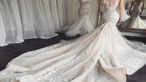 لباس عروس دم ماهی