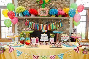 تزیین میز تولد پسرانه