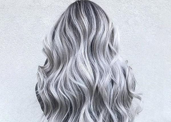 رنگ موی دودی