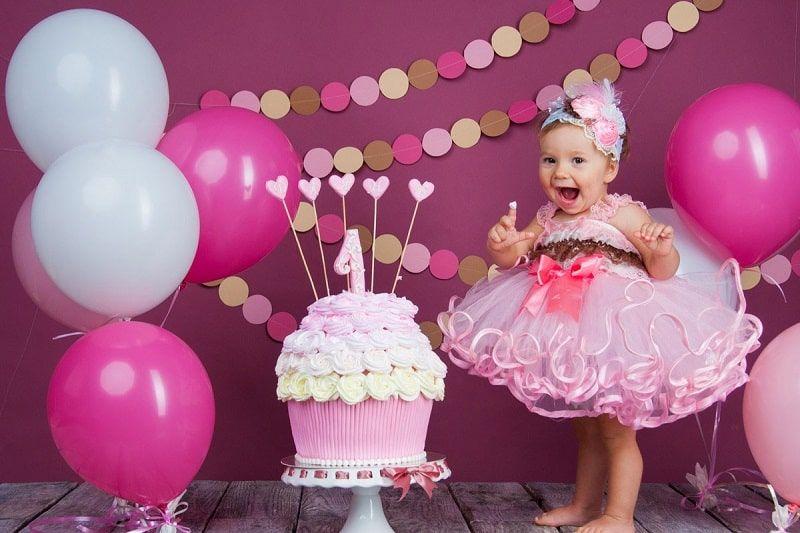 تزیین تولد دخترانه