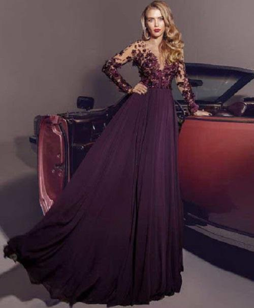 لباس مجلسی رنگ شادر