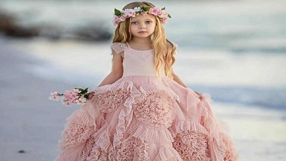 لباس عروس صورتی جذاب