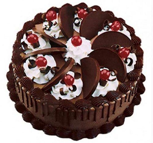 تزئین کیک کاکائویی