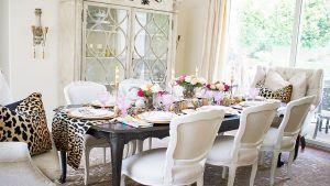 دکور میز پذیرایی