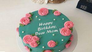 کیک تولد مادر