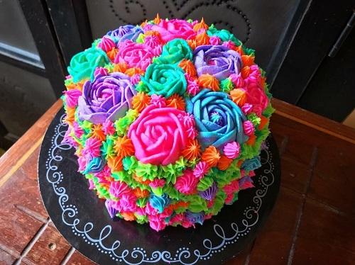 کیک تولد برای مادر