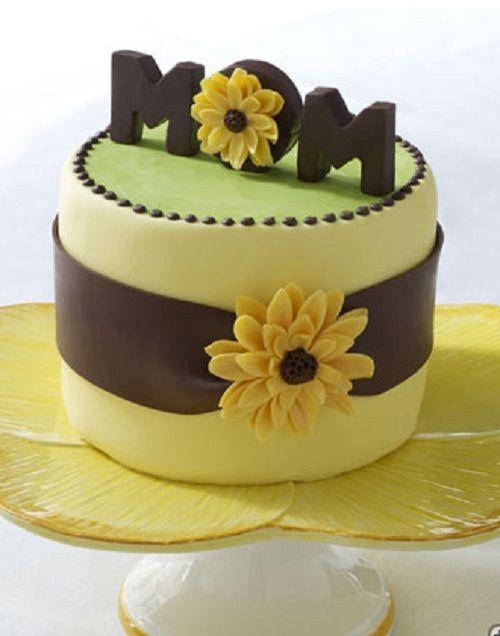 نمونه کیک تولد برای مادر