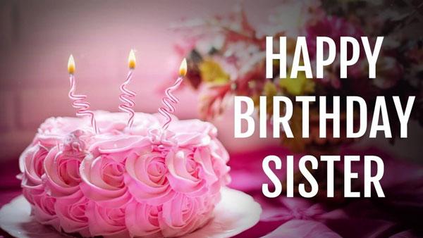 تبریک تولد خواهرانه