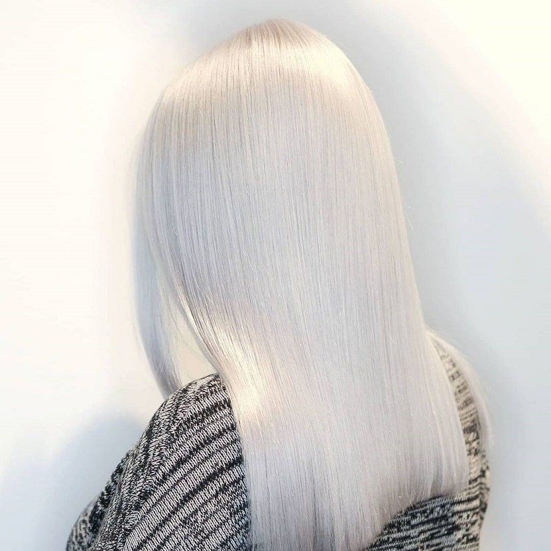 رنگ موی یخی آلپی