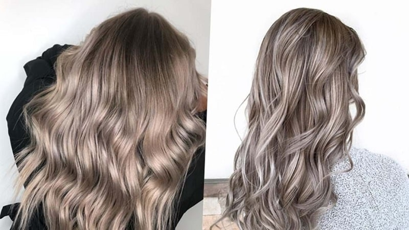رنگ موی بلوند قارچی