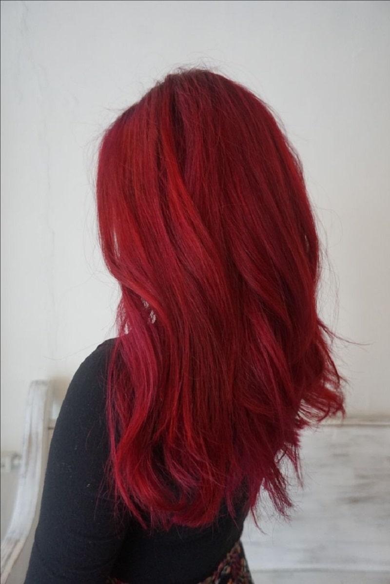 رنگ موی سرخابی