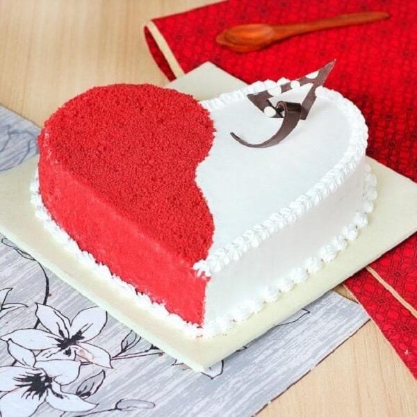کیک برای ولنتاین