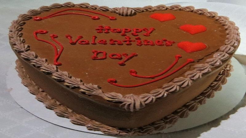 طرز تهیه کیک شکلاتی ولنتاین