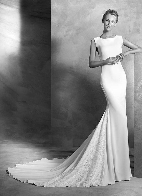لباس عروس ساده