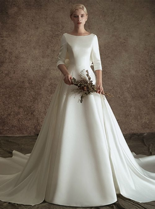 لباس عروس پوشیده