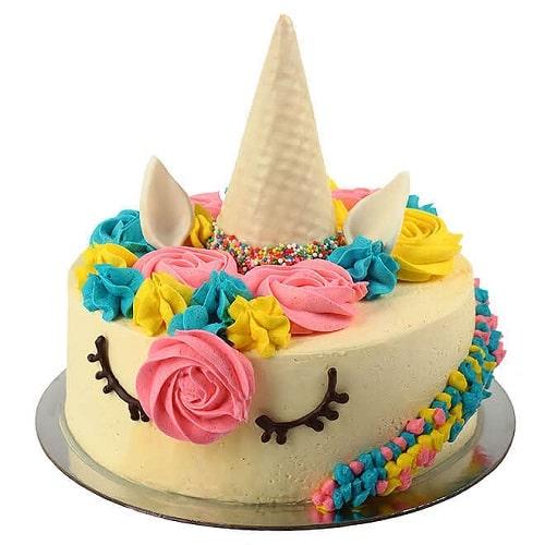 کیک تولد تک شاخ