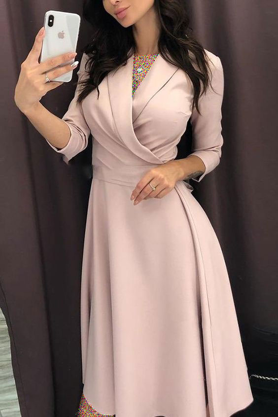 لباس مجلسی با پارچه کرپ