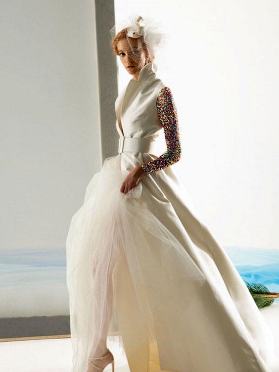 مدل های لباس عروس ایتالیایی
