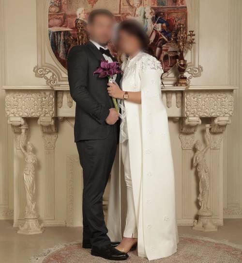 لباس عقد عروس و داماد