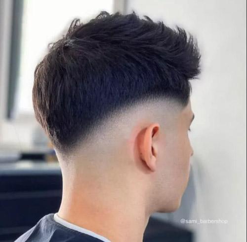 موی دور سفید مردانه