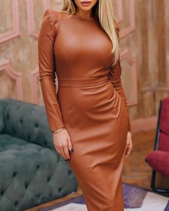 لباس مجلسی چرم