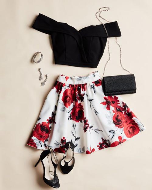 لباس دو تیکه دخترانه