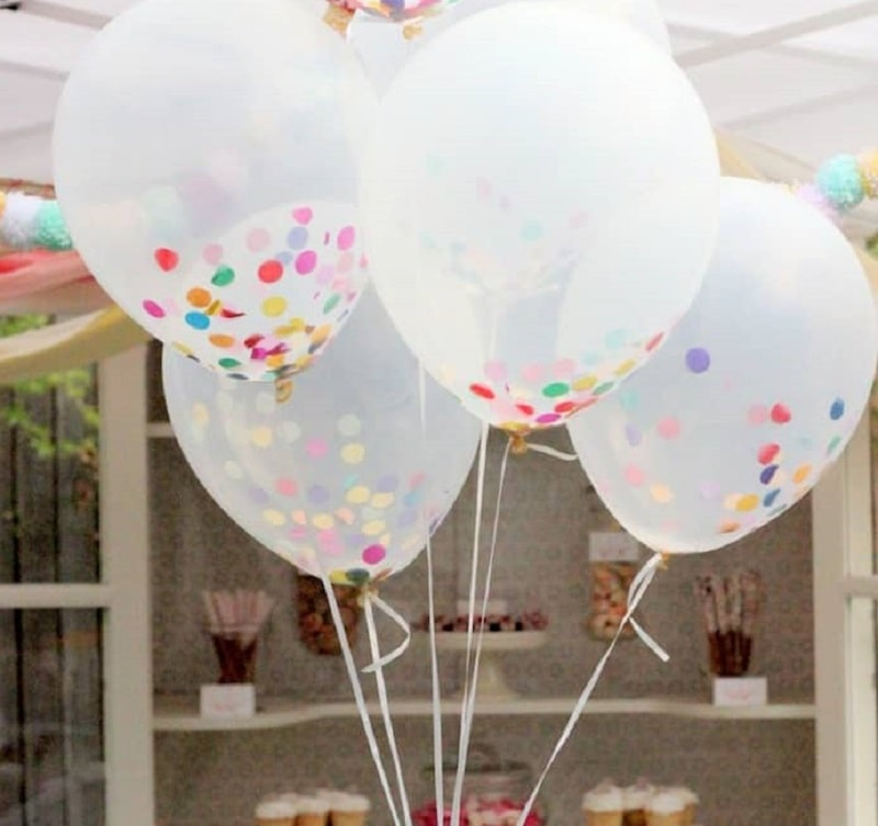 ایده های خانگی برای تزیین تولد