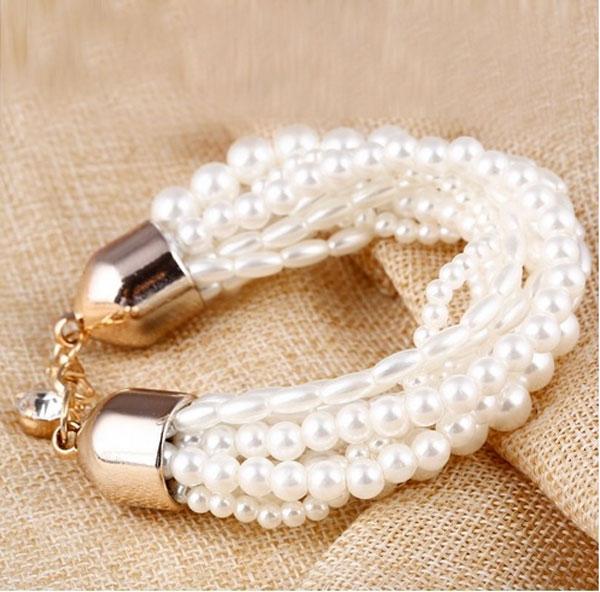 دستبند مروارید جدید