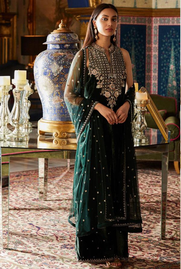لباس هندی مجلسی