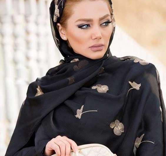 روسری مشکی لاکچری