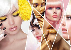 معرفی بهترین طرح های پوستر دیواری برای سالن زیبایی و آرایشگاه زنانه