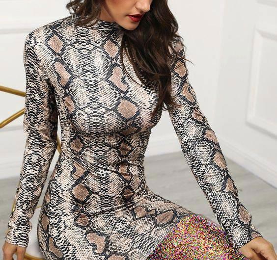 لباس مجلسی پوست ماری