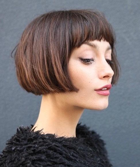 مدل موی کوتاه زنانه برای صورت کشیده