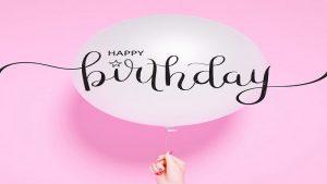 تبریک تولد دوستانه